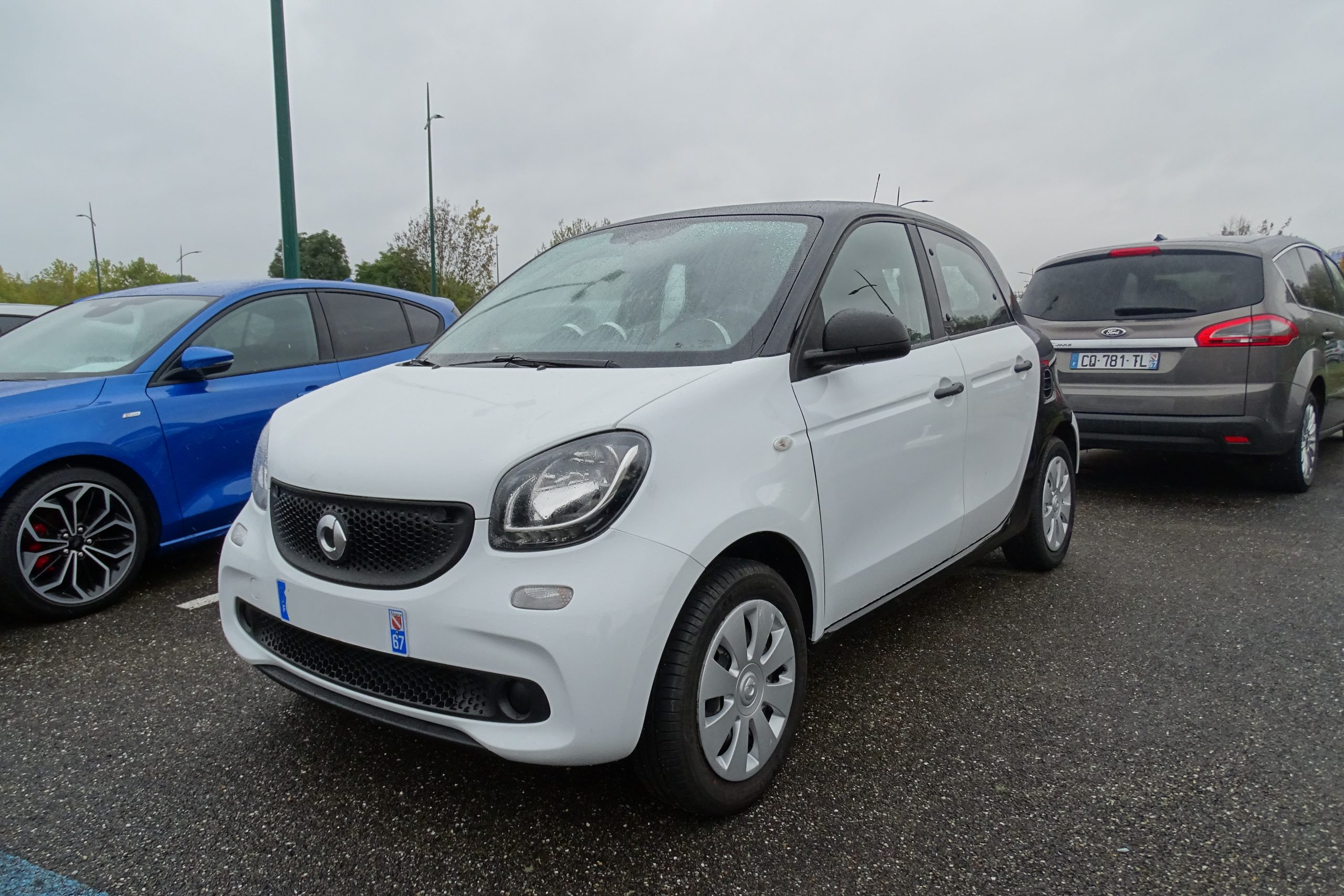 Smart Forfour 1.0 Essence 61ch PURE